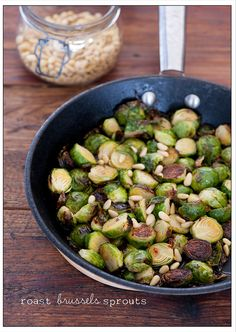 Addictive Roast Brussels Sprouts
