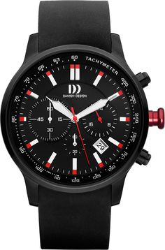 Danish Design IQ14Q996 Danskygge Red Watch | Free Worldwide Shipping