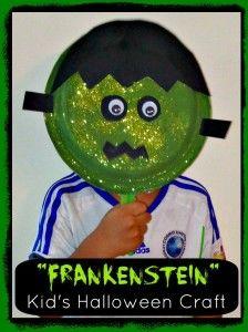 Frankenstein – Easy Kid's Halloween Craft