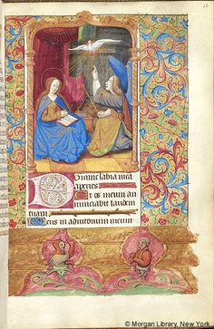Book of Hours, MS M.276 fol. 12r - Images from Medieval and Renaissance Manuscripts - The Morgan Library & Museum