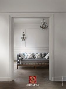 ALHAMBRA Annise Textiles, Bed & Bath, Entryway Bench, Oversized Mirror, Sofa, Living Room, Lineage, Furniture, Fabrics