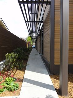 Custom RK Multifamily LivingHome, Los Altos. Designed by Ray Kappe, FAIA. Certified LEED Platinum. Learn more at livinghomes.net
