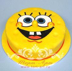 """Детские торты — Торт """"Губка Боб"""""""