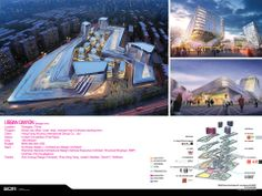 Synthesis Design + Architecture, Los Angeles, CA. Alvin Huang, AIA. Urban Canyon, Shanghai, China.