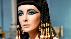 Desenho delineado Cleopatra