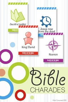 FREE Bible Charades Printable Game perfect for family nights!