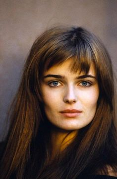 Paulina Porizkova. This is what I imagine Anna Steele to look like when I read the book Fifty Shades. Always loved Paulina.