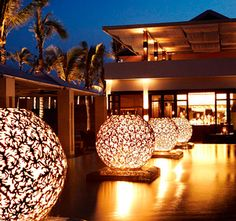 Gorgeous The Nam Hai, #HoiAn at night  Book the hotel with good rate with Exotic Voyages at http://www.exoticvoyages.com/