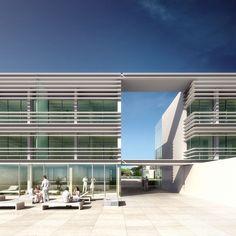 Chinese Architecture, Modern Architecture House, Futuristic Architecture, Classical Architecture, Facade Architecture, Residential Architecture, Modern Houses, Richard Meier, Zaha Hadid Architects