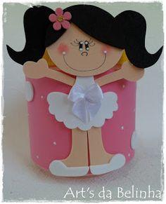 Kids Crafts, Tin Can Crafts, Foam Crafts, Crafts To Make, Paper Crafts, Felt Crafts Patterns, Felt Bookmark, Baby Boy 1st Birthday, Plastic Bottle Crafts