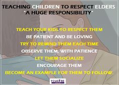 TEACHING #CHILDREN TO #RESPECT ELDERS- A HUGE #RESPONSIBILITY   http://www.youcare.in/care/find/baby-care/26  #babycareinchandigarh #babycareinmohali #babycareinpanchkula #youcare #care #childcaregiversinchandigarh #chidlcaretips #childcare #parentingtips