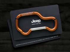 Jeep: Carabiner | Direct marketing #advertising | Leo Barnett, Russia > CreativeIdeas.today