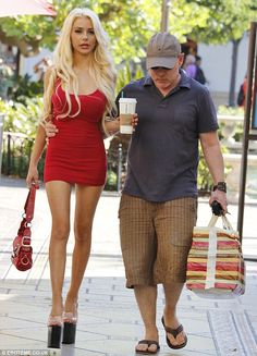 Courtney Stodden must be in absolute agony after stepping out in a pair of super high platform heels