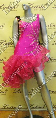 LATIN SALSA COMPETITION DRESS LDW (LT707) LATIN-SALSA-COMPETITION-DRESS-LDW-LT707 Latino Dancewears