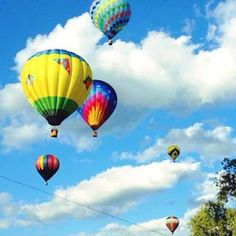 Balloon Festival in Quechee, VT #Vermont. Photo by Carly Carson