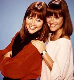"""Jean and Liz Sagal from the short lived sitcom """"Double Trouble"""". I LOVED this show & even had an imaginary twin sister lol My Childhood Memories, Sweet Memories, Childhood Toys, 80 Tv Shows, 80s Kids, Teenage Years, Double Trouble, Classic Tv, My Memory"""