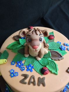 The Lion King ~ Simba Cake