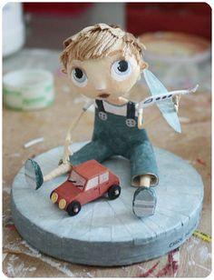 sculptures de papier - Tibout de blog