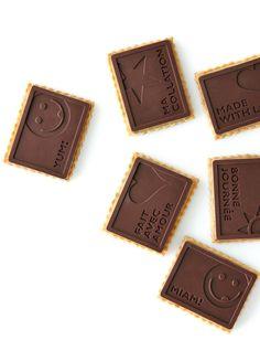 Petits beurre couvert chocolat