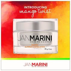 Limited Edition Mango Twist Marini Summer Exfoliator by Jan Marini