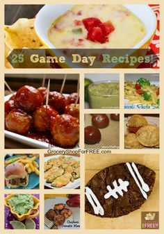 A roundup of 25 game day recipes, with the help of some friends!