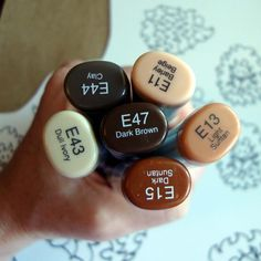 How to use copic markers tutorial 23 | hedgehogs - Scrapbook ideas and tutorials