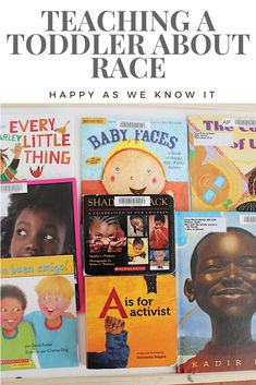 Activities and ideas for beginning to introduce your toddler to the concepts of race and diversity