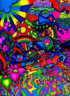 Psychedelic sounds of the Hippie Painting, Trippy Painting, Hippie Wallpaper, Trippy Wallpaper, Psychedelic Art, Trippy Pictures, Trippy Drawings, Stoner Art, Hippie Art