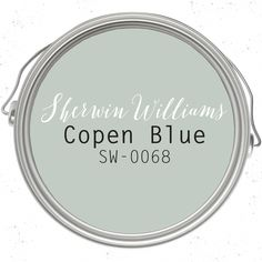 Copen Blue paint color SW 0068 by Sherwin-Williams. See how this color… Blue Paint Colors, Favorite Paint Colors, Bedroom Paint Colors, Interior Paint Colors, Paint Colors For Home, Room Colors, Wall Colors, House Colors, Furniture Paint Colors