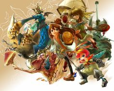 Final Fantasy: Crystal Chronicles (GC)