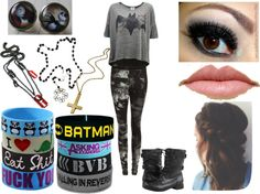 """""""Perfect Batman Outfit"""" by carterwriter ❤ liked on Polyvore"""