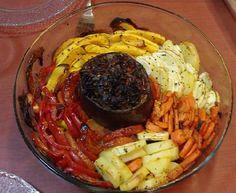 זר ירקות בתנור - חיי - תפוז בלוגים