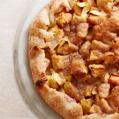 Apple Crostata - A hybrid of two classics, this dessert takes the best from both the apple pie and apple crisp, and makes an amazing addition to any holiday menu.  By Ina Garten