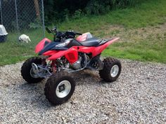 2012 Honda 400EX 4-Wheeler , Red and Black, 25 hours for sale in Mc dermott, OH