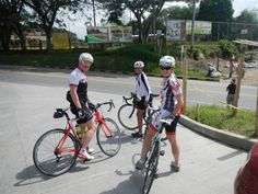 About to start our ride across the Coffee Region