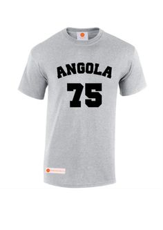 Through the Angola war of independence. Angola gained independence from Portugal on 30 September, Tees, Britain, Clothing, Mens Tops, T Shirt, Outfits, Supreme T Shirt, T Shirts