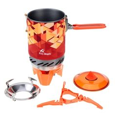 Firemaple Outdoor Picnic Camping Pot Stove Set