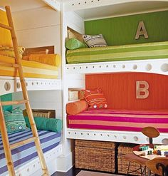 "Cute idea for multiple children for a vacation home. Gives more ""play space"" on the floor."