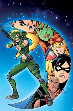 Cover art from Young Justice #7 #YoungJustice