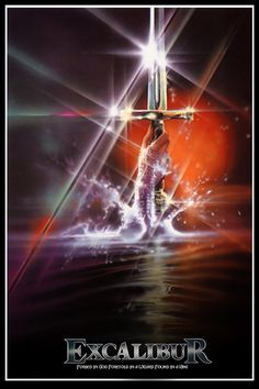 Excalibur - One of my all time favorites movies on the King Arthur story and the Knights of the Round Table.  Lush and decadent