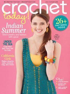 Crochet Today! Magazine - www.crochettoday.com    #crochettoday #magazine #futurepublishing #usjobs #crochet #sewing #creative #patterns