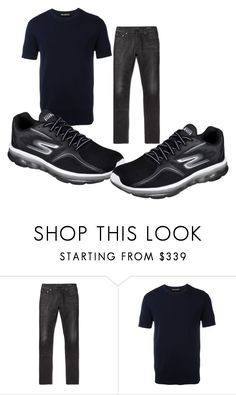 John Hawke clothing - Temporal Demons by tristanhartup-1 on Polyvore featuring Neil Barrett, Yves Saint Laurent, Skechers, men's fashion and menswear