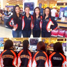 This San Diego California dance team is rocking their GTM Sportswear warm-ups at their local fundraiser! #WeLoveOurCustomers