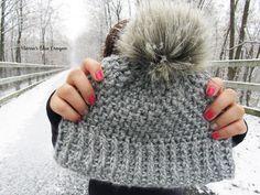 Maria's Blue Crayon: Snowden Beanie - Free Crochet Pattern