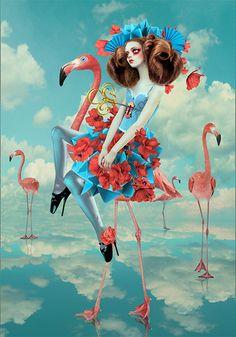 独自のゴスロリ世界を演出 カスタムブラシ、素材、オリジナルPSDファイル デジタルフォトアーティスト - Natalie Shau | Wacom | Wacom