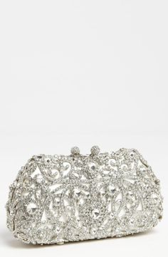 Love the Tasha 'Princess' Clutch on Wantering | Red Carpet Awards | womens sliver clutch | womens bag | womens style | womens fashion | wantering