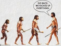 If we had stayed neanderthal the world would have been a much healthier planet ( intelligence ? ) If we evolved intelligence, it's detrimental as mental !! No truly intelligent sentient being would destroy its only life supporting planet !! ie we THINK of ourselves as intelligent BUT we are clearly NOT intelligent ( self praise is no praise ) the evidence confirms humanity is NOT intelligent ‼️☑️
