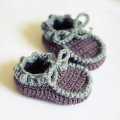 Instant+download++Baby+Booties+Crochet+PATTERN+por+monpetitviolon,+$4,99