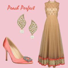 Subtle sophistication for the modern fashionista Bridal Dresses, Prom Dresses, Formal Dresses, Inspiration Boards, Style Inspiration, Asian Bridal, Party Fashion, Bollywood Fashion, Manolo Blahnik
