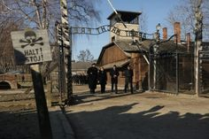 :HOLOCAUST: Chancellor of Germany and Prime Minister of Poland at the Memorial for anniversary of the Auschwitz-Birkenau Foundation News Around The World, Around The Worlds, World Jewish Congress, Words Of Appreciation, Political Prisoners, The Third Reich, 10 Anniversary, Memory Books, Angela Merkel
